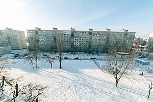Budget apartment with standard equipment on Heroiv Dnipra metro station, Monolocale, 011