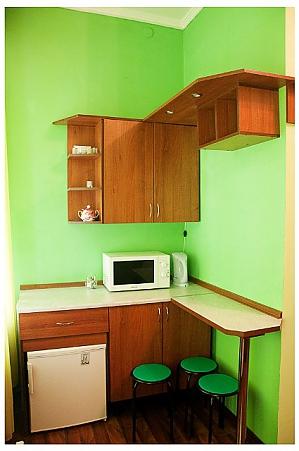 Студіо для двох в тихій частині центру міста, 1-кімнатна, 003