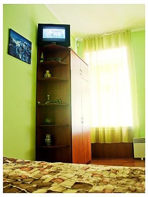 Студіо для двох в тихій частині центру міста, 1-кімнатна, 001