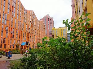 Lux apartment in Comfort Town residential complex, Studio, 012