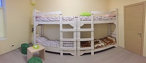 A bed in 8-bedded room in hostel, Studio, 002