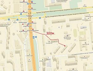 Однокімнатна квартира біля метро Академмістечко, 1-кімнатна, 014