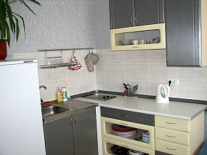 Studio apartment in the new building near Vasylkivska metro station, Studio, 004