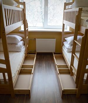 Удобная кровать в номере для женщин, 1-комнатная, 003