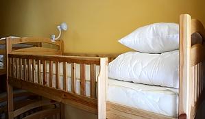 Спальное место на двухъярусной кровати в общем 8-ми местном номере для мужчин, 1-комнатная, 002