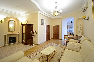 Upscale European comfortable apartment in the city center in the historic area, Zweizimmerwohnung, 002