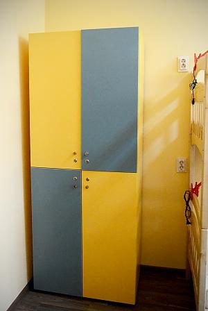 Спальное место в 8-ми местном номере для мужчин, 1-комнатная, 002