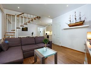 Duplex penthouse, One Bedroom, 002