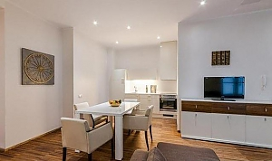 Deluxe apartment with 2 bedrooms and sauna, Two Bedroom, 004