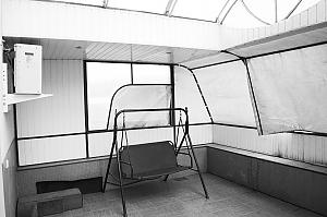 Apartment with a terrace, Un chambre, 003