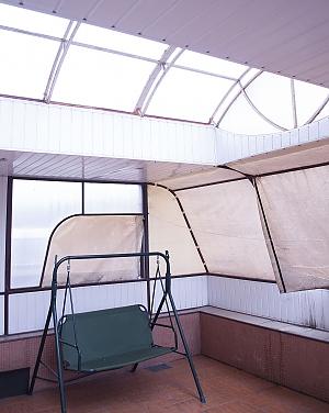 Apartment with a terrace, Un chambre, 004