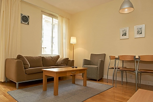Apartment in the Old town, One Bedroom, 003