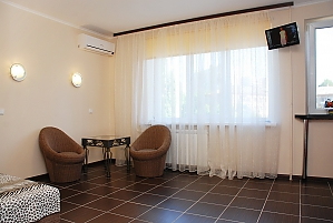 Apartment near the bus station and Demiivska metro station, Studio, 004