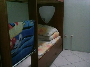 Bed in 4-bed room in Night Light hostel, Monolocale, 001
