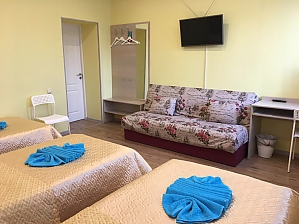 Suite with the amenities for 3 guests in Alliance guest house, Studio, 002