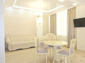 Luxury one-bedroom studio-apartment in the centre of Odesa, Zweizimmerwohnung, 003