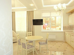 Luxury one-bedroom studio-apartment in the centre of Odesa, Zweizimmerwohnung, 004