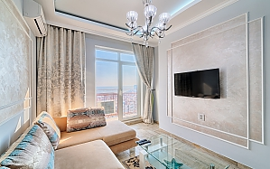 Golden sea view apartment, Studio, 002