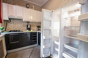 Apartment in a beautiful place in the heart of Kharkov, Un chambre, 004