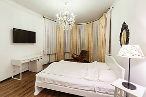 Deluxe suite for 4 guests in the boutique-hotel, Un chambre, 004