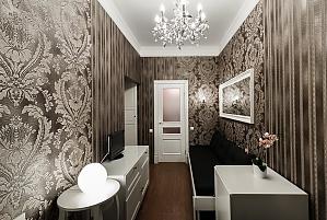 Standard suite in beige colors, Studio, 001
