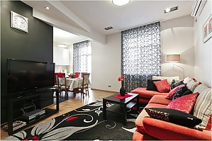 Luxury apartment in the centre of Minsk, Two Bedroom, 003