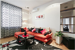 Luxury apartment in the centre of Minsk, Two Bedroom, 004