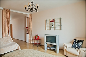Apartment in warm colors, One Bedroom, 003