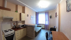 Apartment in Prymorskyi district in a new building, Un chambre, 016