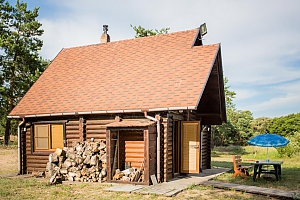 Two-storied cottage on the lake shore, One Bedroom, 002