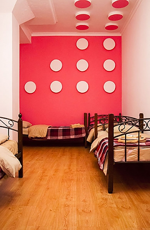 Bed in 4-bed room for male and female, Studio, 003