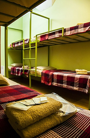 Bed in dormitory for 8 persons, Studio, 003