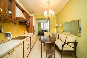 Luxury apartment on Belorusskaya, Dreizimmerwohnung, 003