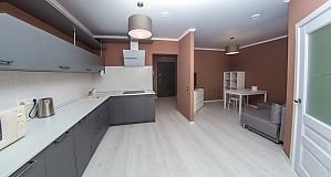 Modern apartment in a new brick house, One Bedroom, 002