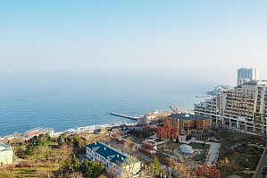 Apartment with a balcony and panoramic view of the sea, Zweizimmerwohnung, 035