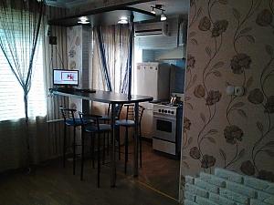 Современная квартира-студия возле пляжа Лузановка, 1-комнатная, 001