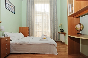 Cozy apartment in the city center, Vierzimmerwohnung, 002