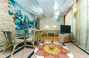 Chic VIP apartment with a sauna on Khreschatyk, Three Bedroom, 003