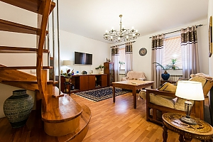 Two-storied penthouse in the centre of Minsk, Due Camere, 003