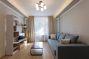 Modern apartment with a new renovation, One Bedroom, 002