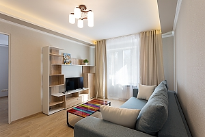 Modern apartment with a new renovation, One Bedroom, 001