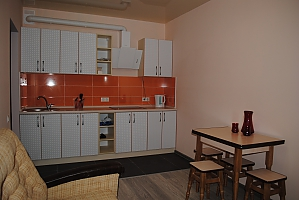 Apartment not far from Akademmistechko metro station, Un chambre, 002