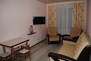 Apartment not far from Akademmistechko metro station, Un chambre, 001