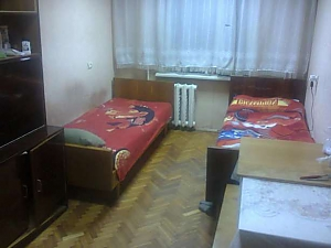 Sleeping place in double room with Wi-Fi near Lisova metro station, Studio, 002