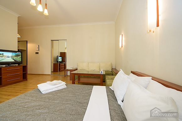 Large jaсuzzi apartment with balcony and sofa bed, Studio (51825), 005