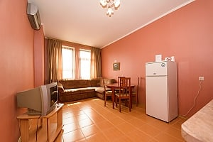 Comfortable spacious one-bedroom apartment with kitchen and bathtub, One Bedroom, 004