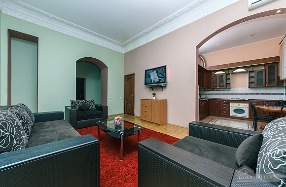 With a fire place in Kiev center, Three Bedroom (80000), 006