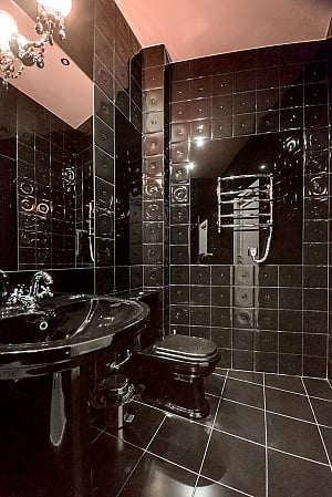 Top floor street view double room with shower, Studio, 010