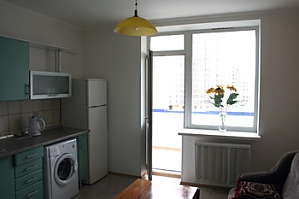 Apartment in a new building on Lukianivka, Monolocale, 004