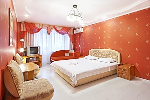 "Palats ""Ukraina"" metro station, One Bedroom, 003"